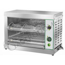 Toaster –  Edelstahl – 6 Toasts – Leistung 3300 W – einphasig