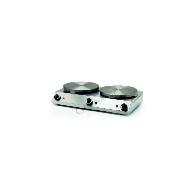 Crêpes Maker – doppelt – Durchmesser 400 + 400 mm – Leistung 4800 + 4800 W