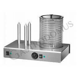Hot-Dog – 3 Spieße – Leistung 1100 W