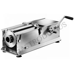 Wurstfüllmaschine – manuell – liegend – Kapazität 7 Liter