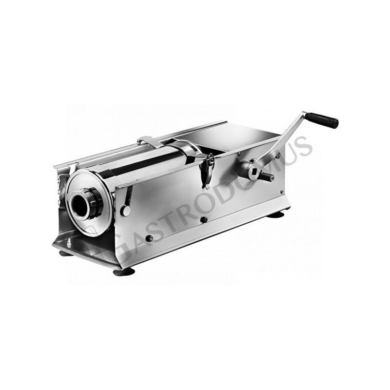 Wurstfüllmaschine – manuell – liegend – Kapazität 14 Liter