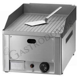 Bratplatte – Tischgerät – Gas – gerillt – verchromt – Leistung 4000 W