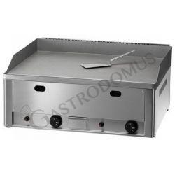 Bratplatte – Tischgerät – Gas – glatt – doppelt – verchromt – Leistung 8000 W