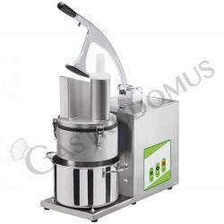 Gemüseschneider – elektrisch – einphasig – 5 Scheiben-Set – Leistung 370 W – Geschwindigkeit 310 U/m
