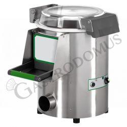 Kartoffelschäler – Tischgerät – dreiphasig – Kapazität 5 Kg – Leistung 60 Kg/H