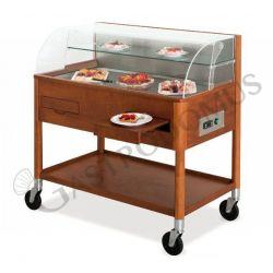 Gekühlte Servierwagen – Kuchen & Käse