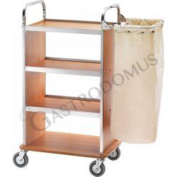 Wäschewagen – Edelstahl – Klappbügel – B 700 mm