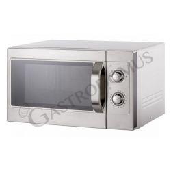 Mikrowelle – manuelles Bedienfeld – Kapazität 26 L – 1100 W