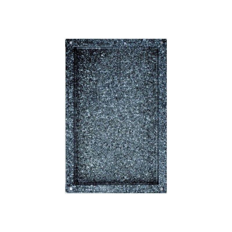 Backblech – quadratisch – emaillierter Edelstahl – GN1/1 – 530 mm x 325 mm x 40 mm