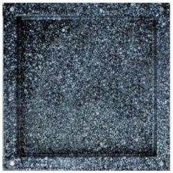 Backblech – quadratisch – emaillierter Edelstahl – GN2/3 – 353 mm x 325 mm x 40 mm