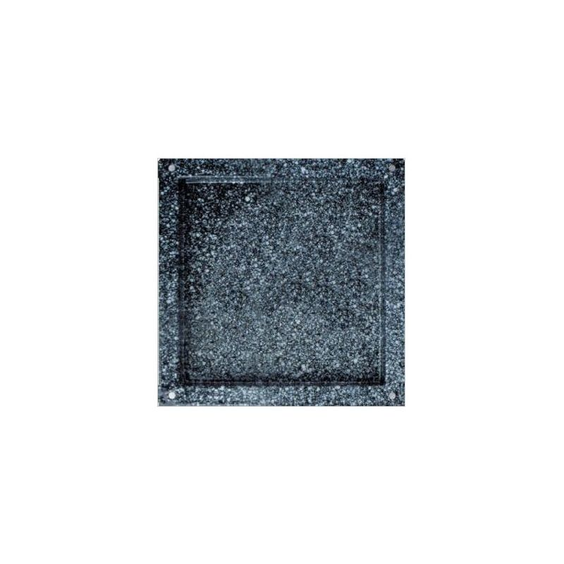 Backblech – quadratisch – emaillierter Edelstahl – GN2/3 – 353 mm x 325 mm x 65 mm