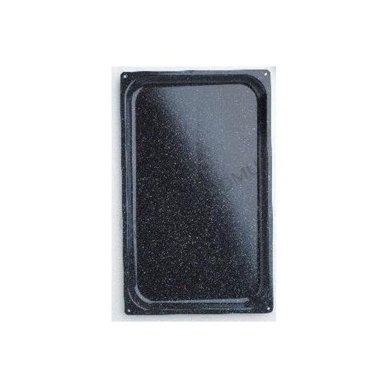 Backblech – quadratisch – gestanzt – Edelstahl – GN1/1 – 530 mm x 325 mm x 20 mm