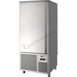 Schnellkühler aus Edelstahl – Vorrichtung für 15 GN1/1 Bleche oder 15 Tragroste 600 mm x 400 mm