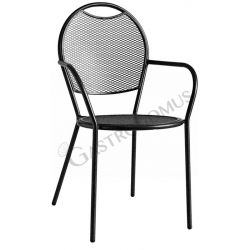 Agile 2 Stuhl – Struktur – Sitzfläche & Rückenlehne – Stahl – lackiert