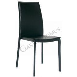 Duffy 2 Stuhl – Stahlstruktur – Kunstleder – bezogen