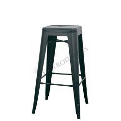 Pyramid Tresenhocker – Struktur – Sitzfläche – Metall – lackiert – Transparent lack
