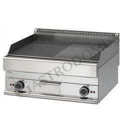 Gas Bratplatte – Tischgerät – glatt + gerillt – 11400 W – Serie 700