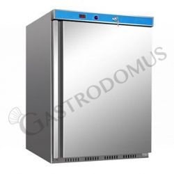 ECO Kühlschrank mit statischer Kühlung – Edelstahl – Temperaturbereich + 2 °C/+ 8 °C – 130 L