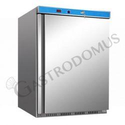 ECO Gefrierschrank mit statischer Kühlung – Edelstahl – Temperaturbereich -18 °C/-22 °C – 120 L