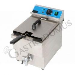 Tischfritteuse – elektrisch – 1 Becken – Kapazität 8 L – 3250 W