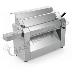 Teigausroller – vertikal – Tischgerät – einphasig – B 375 mm  T 700 mm x H 545 mm – Edelstahlwalzen 420 mm