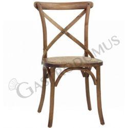Primula Stuhl – Struktur – Holz – Sitzfläche – Rattan