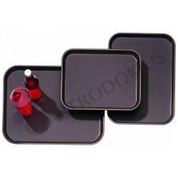 Polypropylen-Tablett mit rutschfester Oberfläche mit Abmessungen von 460 x 360 mm