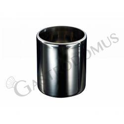 Runde Eisbehälter – Pozzetti Technik – Durchmesser 200 mm – Stärke 0,8 mm
