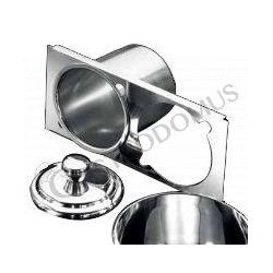 Runde Minieisbehälter – Pozzetti Technik – Halter – Stärke 1 mm