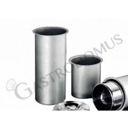 Schacht –Runde Eisbehälter – Pozzetti Technik – Durchmesser 207 mm – Stärke 0,8 mm