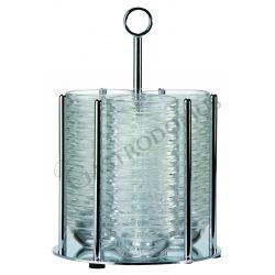 Glasschalenständer – Edelstahl