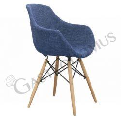 Stuff Sessel – Struktur – Metall – Holz – Sitzfläche & Rückenlehne – Stoff