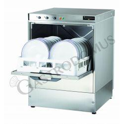 Geschirrspülmaschine – einphasig – Korb 50 cm x 50 cm – Einschubhöhe 32 cm – Reinigerdosierer – Klarspüldosierer