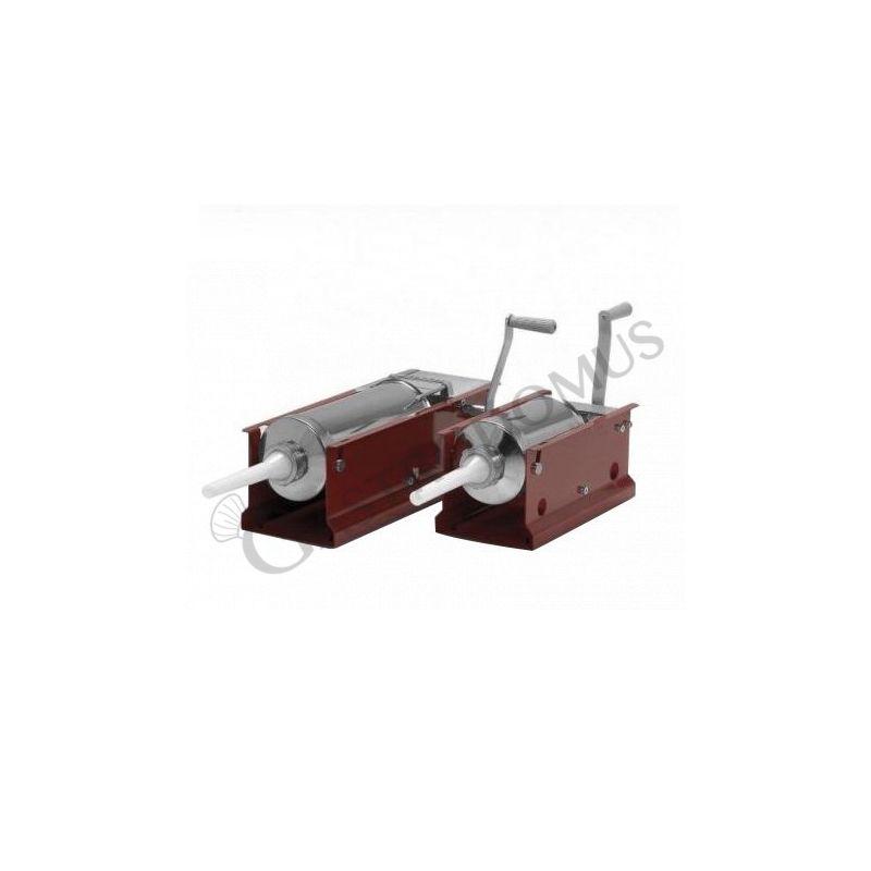 Wurstfüllmaschine – manuell – liegend – Kapazität 5 Liter – Trichter Durchmesser 136 mm