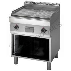 Elektro Grillplatte – verchromt – 2 Kochzonen – Standgerät – dreiphasig – 9000 W – Serie 700