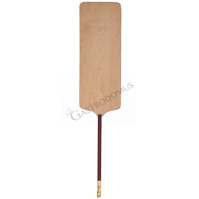 Pizzaschaufel für Meter-Pizza – Holz – 36 x 80 cm – H 170 cm