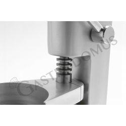 Hamburgerpresse – manuell – Durchmesser 100 mm – B 250 mm x T 190 mm x H 320 mm