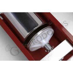 Wurstfüllmaschine – manuell – liegend – Kapazität 3 Liter – Trichter Durchmesser 136 mm
