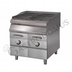 Elektro Dampf Wassergrill – Standgerät – 2 Kochzonen – 900 Serie