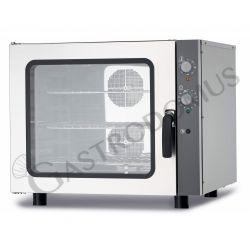 Bäckerei Heißluftofen – Beschwadungs-Taste – dreiphasig – mechanische Steuerung – 6 Tragroste 600x400 mm