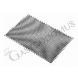 Pizzagitter – Aluminium – rechteckig – 40 x 60 cm