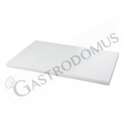 Schneidebrett – Polyethylen – Weiß – 60 x 40 x 2 cm