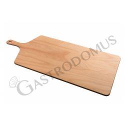 Servierbrett – Holz – rechteckig – 36 x 60 cm