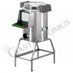 Stand-Miesmuschelreiniger – Gestell – einphasig – Kapazität 10/18 Kg – Produktion 220 Kg/h