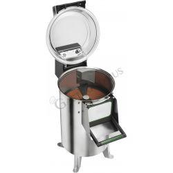 Kartoffelschäler – Standgerät – dreiphasig – Kapazität 10 Kg – Leistung 120 Kg/H