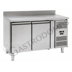 Kühltisch für Konditoreien –  2 Türen – Aufkantung – 60 x 40 – Temperaturbereich - 2 ° C / + 8 ° C