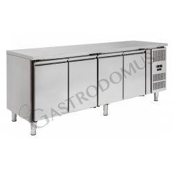 Kühltisch – 4 Türen – Tiefe 700 – Temperaturbereich - 18 °C / - 22 °C