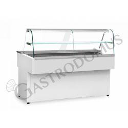 Cloe Kühltheke mit statischer Kühlung – full optional – Länge 1300 mm – Temperaturbereich + 2°C / + 8°C
