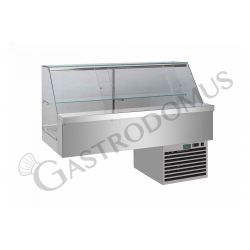 Einbau – Kühlvitrine – Sandwich – 1 Ablage – Kühlaggregat – B 2000 mm