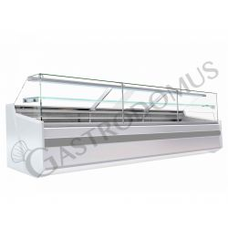 Mila Kühltheke mit Umluftkühlung – full optional – Länge 3210 mm – Temperaturbereich + 1°C / + 10°C